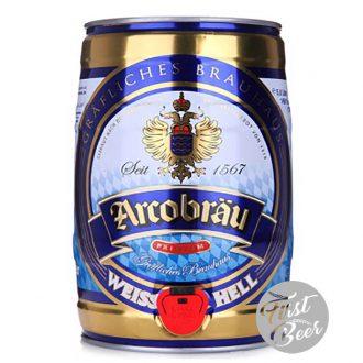 Bia Arcobrau Weissbier Hell 5.3% – Bom 5 lit