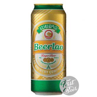 Bia Beerlao Lager 5% – Lon 500ml – Thùng 24 Lon