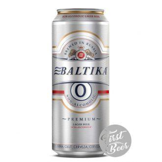 Bia Không Cồn Baltika 0 – Lon 450ml – Thùng 24 Lon
