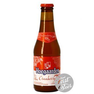 Bia Hoegaarden Cranberry 3% Nhập khẩu – Chai 250ml – Thùng 24 Chai