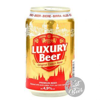 Bia Luxury Vàng 4.9% – Lon 330ml – Thùng 24 Lon