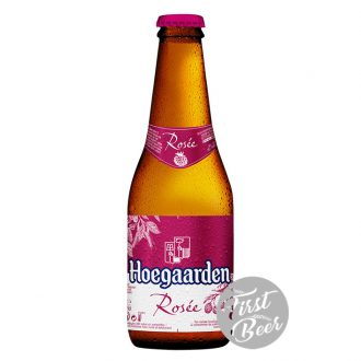Bia Hoegaarden Rosee 3% Nhập khẩu – Chai 250ml – Thùng 24 Chai