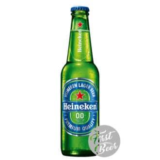 Bia Heineken Không Cồn 0% -  Chai 330ml - Thùng 24 chai