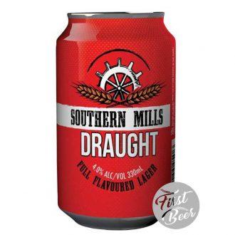 Bia Southern Mills Draught 4.0% - Lon 330ml - Thùng 30 Lon