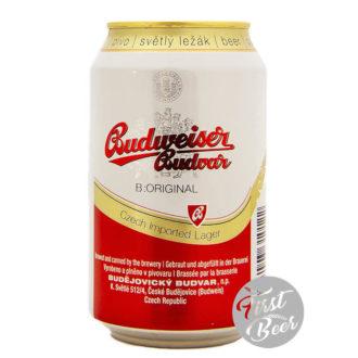 Bia Budweiser Budvar Original 5% – Lon 330ml – Thùng 24 Lon