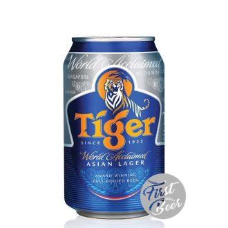 Bia Tiger (Nhập khẩu Hà Lan) 5% - Lon 330ml - Thùng 24 Lon
