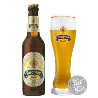 Bia Arcobrau Pilsner 4.9% – Chai 330ml – Thùng 24 Chai