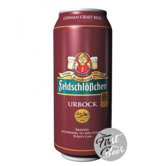Bia Feldschloesschen Urbock 7.2% – Lon 500 ml - Thùng 24 Lon950