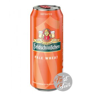 Bia Feldschloesschen Pale Wheat 4,9% – Lon 500 ml - Thùng 24 Lon