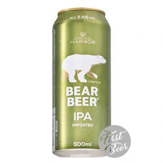 Bia Gấu Bear Beer IPA 5.6% – Lon 500ml – Thùng 24 Lon