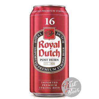 Bia Royal Dutch 16% – Lon 500ml – Thùng 24 Lon