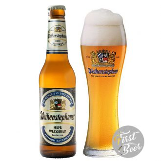 Bia Weihenstephaner Hefe Weissbier 5.4% – Chai 330ml – Thùng 24 Chai