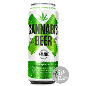 Bia X – Mark Cannabis Beer 5% – Lon 500ml – Thùng 12 Lon