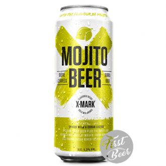 Bia X – Mark Mojito Beer 5.9% – Lon 500ml – Thùng 12 Lon