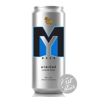 Bia My Beer 4.5% – Lon 500ml – Thùng 12 Lon