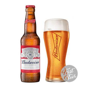 Bia Budweiser Nhập 5% – Chai 330 ml – Thùng 24 Chai