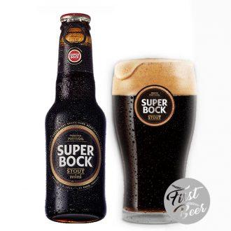 Bia Super Bock Stout 5.0% – Chai 250ml – Thùng 24 Chai