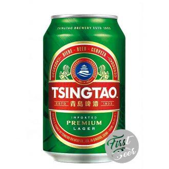 Bia Tsingtao 4.8% – Lon 300ml – Thùng 24 Lon