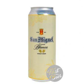 bia san miguel blanca