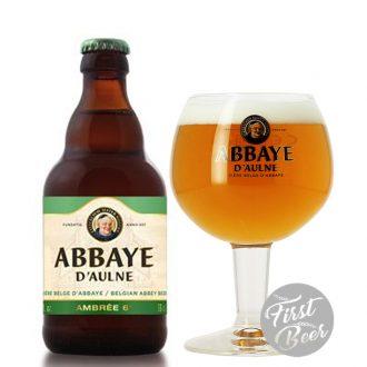 Bia Abbaye Amber 6.0% - Chai 330ml - Thùng 24 Chai