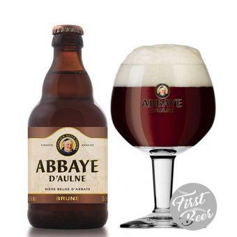 bia abbaye brune