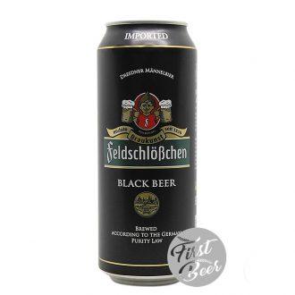 Bia Feldschloesschen Black 5.0% – Lon 500 ml - Thùng 24 Lon