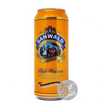 Bia Sanwald Hefeweizen 4.9% – Lon 500ml – Thùng 24 Lon